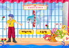 Game Dolphin in circus