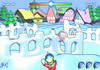 Game Snow fortress attack