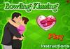 Game Bowling kissing