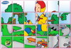 Game Rotate puzzle 4