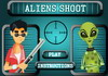 Game Aliens shoot