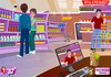 Game Kissing in supermarket