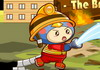 Game The brave firefighter