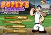 Game Popeye baseball