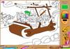 Game Flintstone online coloring book