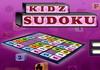 Game Kidz sudoku