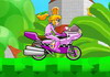 Game Peach bike game