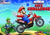 Game Mario bike challenge