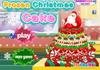 Game Frozen Christmas cake