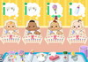 Game Cute baby day care