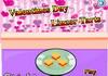 Game Valentines Day linzer tarts