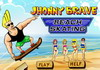 Game Jhonnny Brave beach skating