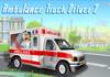 Game Ambulance truck driver 2