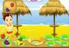 Game Beach fruity snack