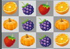 Game Dinosaurs eat fruit