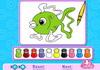 Game Cute fish coloring