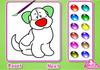 Game Kids pet coloring