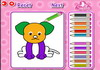 Game Cute pets coloring
