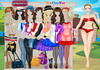Game Barbie college princess