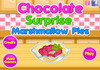 Game Chocolate surprise marshmallow pies