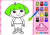 Game Merry dora coloring