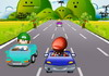 Game Mario on road