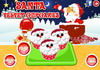 Game Santa velvet cupcakes