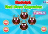 Game Rudolph red nose cupcakes