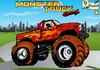 Game Monster truck racing 2