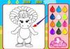 Game Big dino coloring