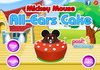Game Mickey mouse all ears cake
