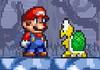 Game Super mario bros star scramble 2 ghost island