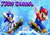 Game Toon skiing