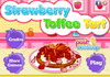 Game Strawberry toffee tart