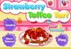 Game Strawberry toffee tart