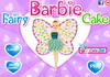 Game Barbie fairy cake