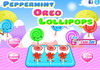 Game Peppermint oreo lollipops
