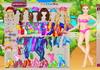 Game Barbie park ride