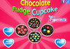 Game Chocolate fudge cupcake