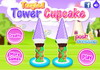 Game Tangled tower cupcake