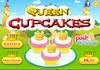 Game Queen cupcakes
