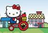 Game Hello Kitty vượt địa hình