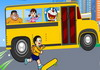 Game Doraemon late to school