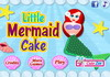 Game Little mermaid cake