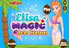 Game Elisa magic ice cream
