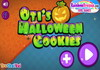 Game Oti Halloween cookies