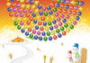Game Bubble shooter Christmas wheel