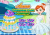 Game Anna wedding cake contest
