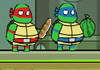 Game Ninja turtles save New York