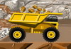 Game Huge gold truck